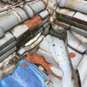瓦屋根一部補修工事<br><伊丹市西台5丁目>
